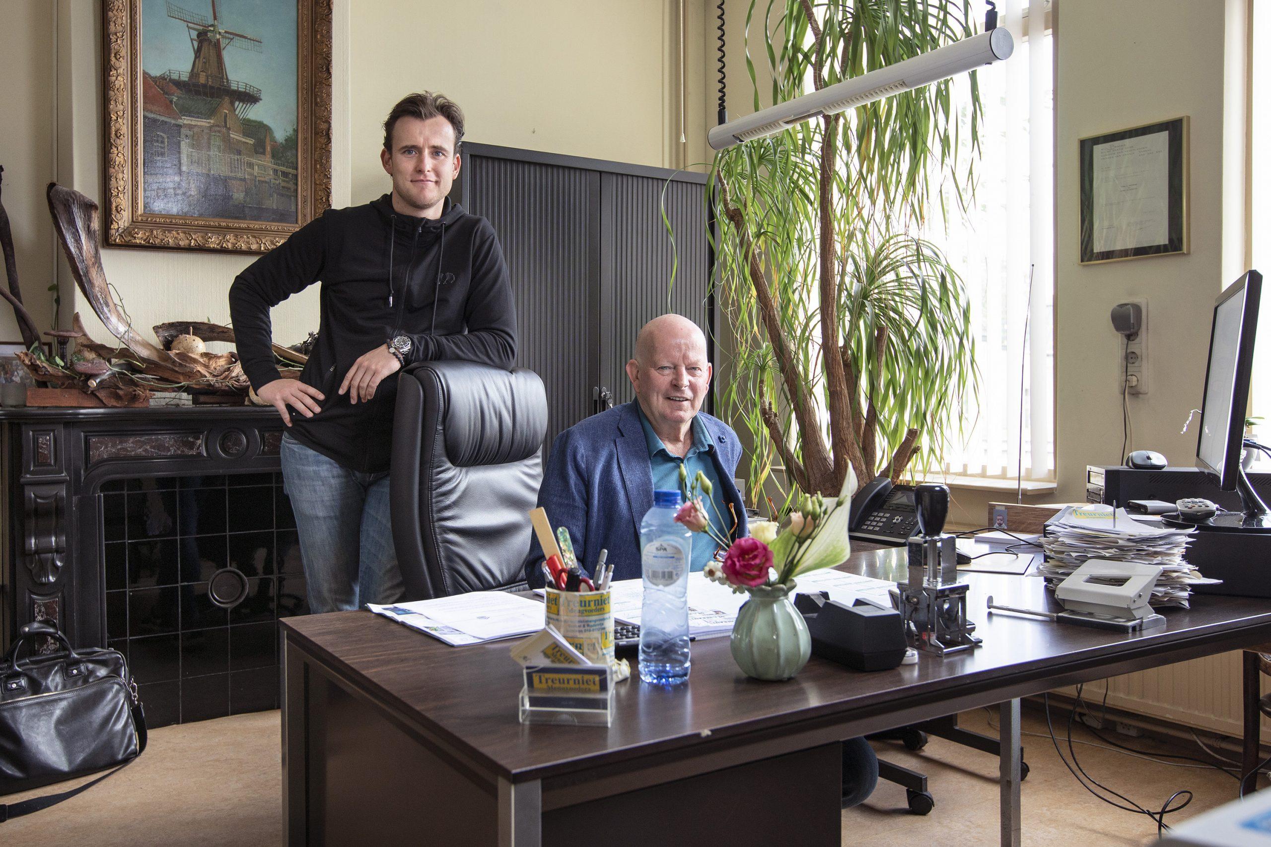 vader en zoon Treurniet