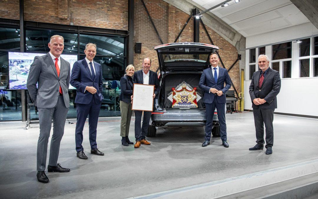 Volvo Buitenweg verkrijgt predicaat Hofleverancier