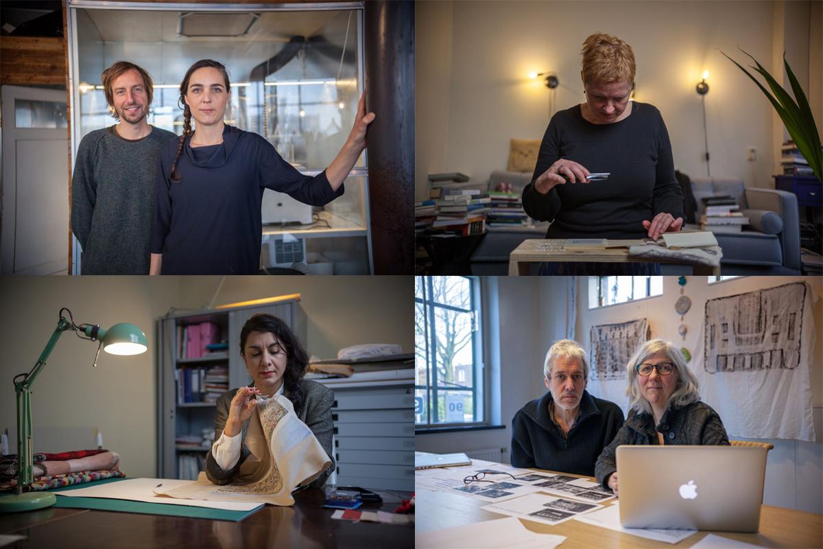 creatieve makers die gaan samenwerken met hofleveranciers in Tiel